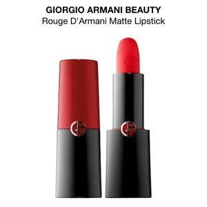 Giorgio Armani intense matte color 401 red fire